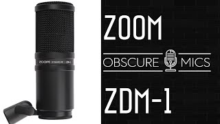 Zoom ZDM-1   Dynamic Broadcast Microphone   Test / Review with Beyerdynamic M99 Opening