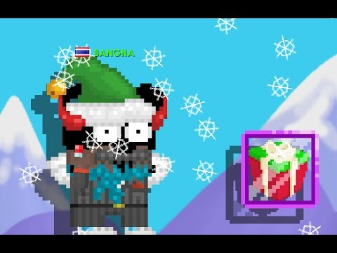growtopia 11 winterfest opening 200 winter gift youtube. Black Bedroom Furniture Sets. Home Design Ideas