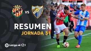 Resumen de Nàstic vs Málaga CF (0-1)