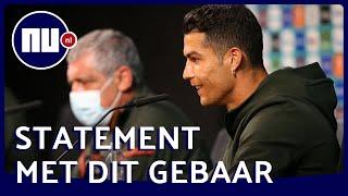 Hoe schadelijk is het 'Ronaldo-moment' voor Coca-Cola?   NU.nl