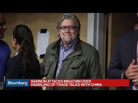 Bannon Attacks Mnuchin Over U.S.-China Trade Talks
