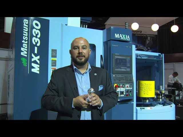 Taking The Fear Out Of 5-Axis Machining With Matsuura and PowerMill