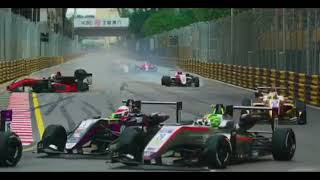 Macau Grand Prix 2018 F3 accident Sophia Florsch part 1