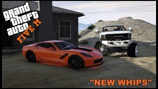 GTA 5 ROLEPLAY -  NEW Z06 CORVETTE AND DURAMAX - EP. 312 - CIV
