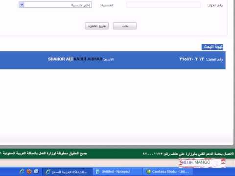 How to find Nitaqat category colour Red, Green, Yellow or White Saudi ...