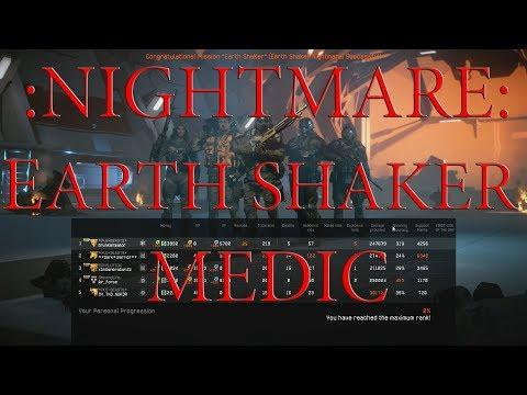 Warface - Nightmare Earth Shaker MEDIC - maximum effort
