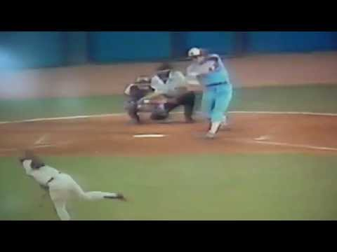Gary Carter Base Hit Robbed By Pepe Frias