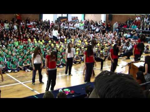 Inauguración Deportes Colegio Los Pinos 2da Parte 2014-2015 Quito, Ecuador