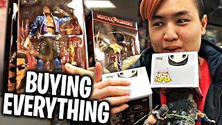 Buying Everything Mortal Kombat Challenge With My Girlfriend!!