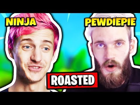 NINJA ROASTS PEWDIEPIE | Fortnite Daily Funny Moments Ep.153