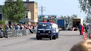 Carpulling Klaaswaal 2011 No Mercy 1ste manche autotrek