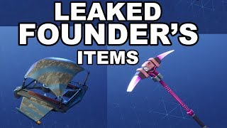 ✅ LEAKED SAVE THE WORLD FOUNDER'S ITEMS!!! | Fortnite fuite Nouvelles