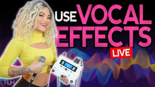 Best Vocal Effects Pedal for Live Performance - Demo and Tutorial in 2021