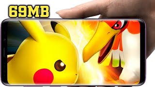 |69MB|Download Awesome Offline Pokemon Game In Android With Gameplay Proof