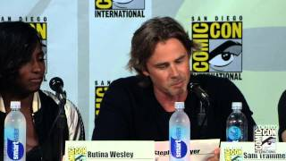 Repeat youtube video True Blood Season 7: Comic-Con Panel (HBO)