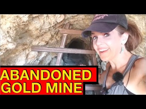 Abandoned Cabin and Spooky Mine Tunnel on the Pahrump Side of the Spring Mountains