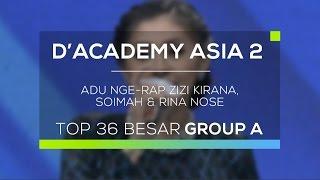 Download Lagu Adu Nge-rap Zizi Kirana, Soimah dan Rina Nose (D'Academy Asia 2) mp3