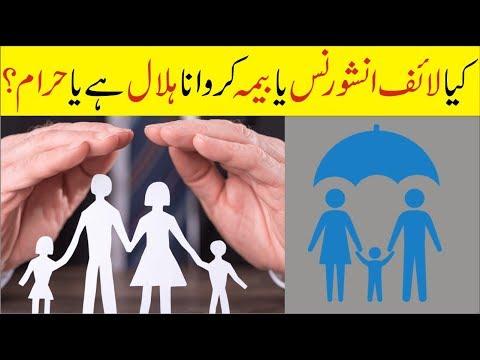 Is Life Insurance Allowed?کیا زندگی کا بیمہ کروانا جائز ہے یا حرام؟