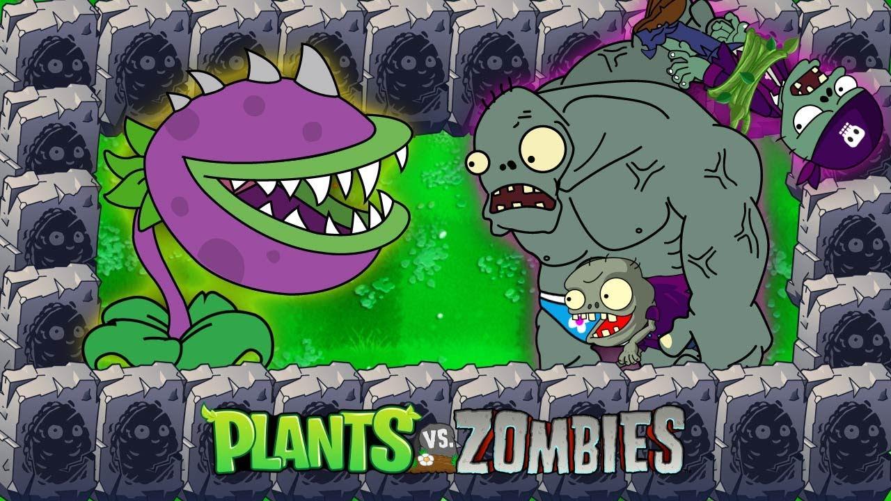 Plants vs Zombies Animation 2 Threepeater vs Dr. Zomboss