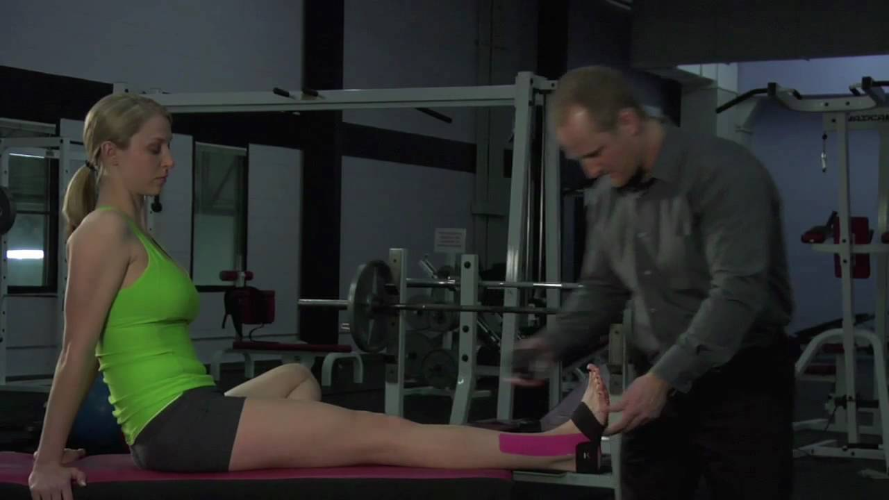 3864f985a1 KT Tape: Ankle Sprains - YouTube