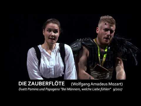 """Wolfgang Amadeus Mozart DIE ZAUBERFLÖTE """"Bei Männern, Welche Liebe Fühlen"""""""
