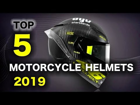 Top 5 Best Motorcycle Helmets 2019!!!