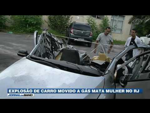 RJ: Mulher morre em explosão de carro