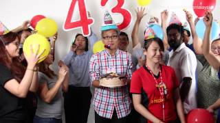 Tony Pua 43rd Birthday Message