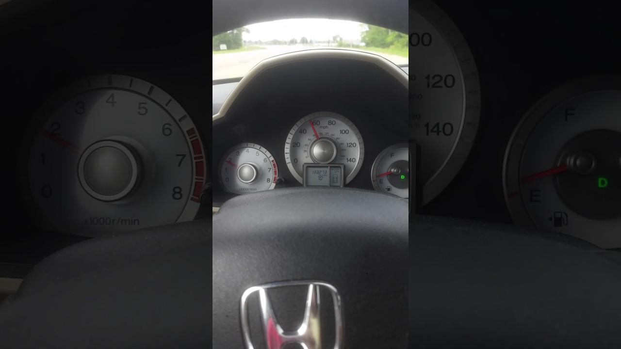 2009 Honda Pilot Transmission Shudder