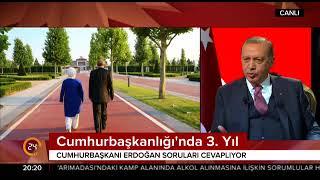 """Oğuz Haksever sunumuyla """"Cumhurbaşkanı Erdoğan ile 3. yıl Özel Yayını"""""""