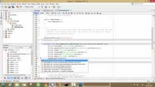 #2. Insert data into MySQL through java program using Netbeans!!!