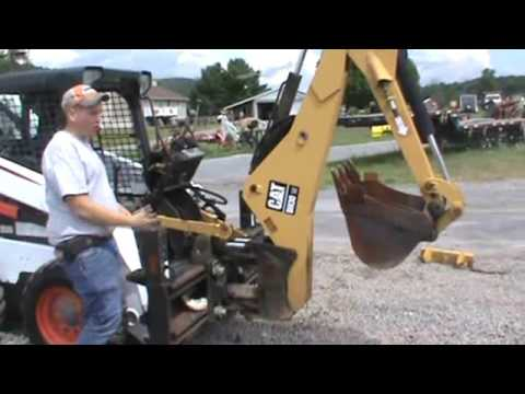 Cat Caterpillar BH30W Skid Steer Backhoe Attachment For Sale