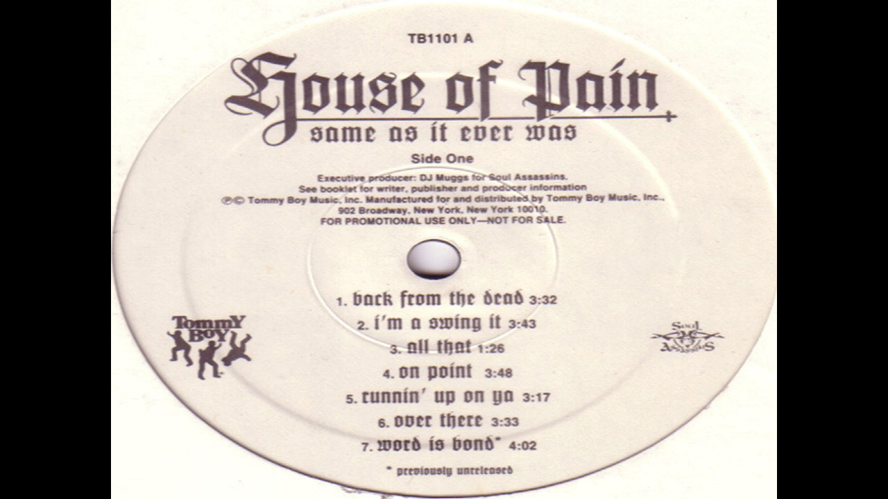 House of pain im a swinging it