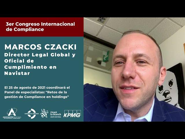 Marcos Czacki ponente invitado del 3er Congreso AMEXICOM