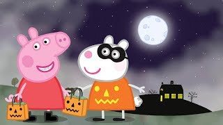 Peppa Pig English Episodes - Halloween Party Peppa Pig Official