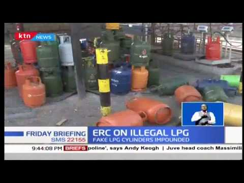 ERC storms illegal gas filling plants