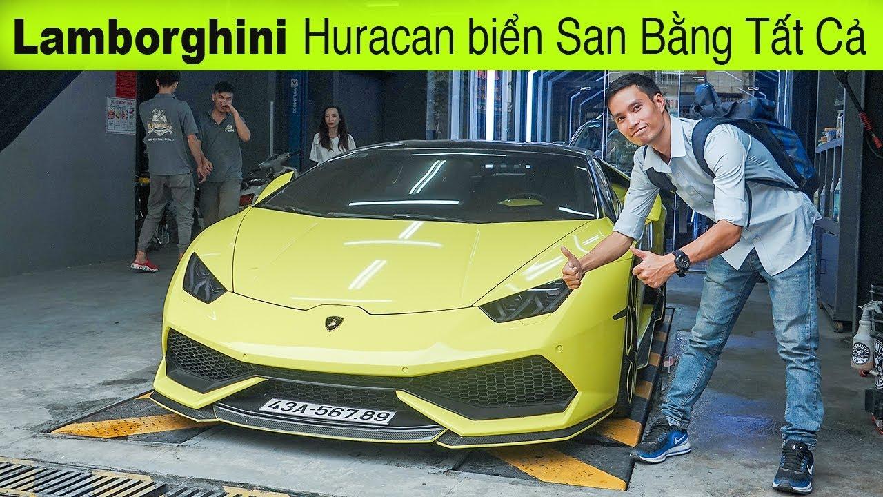 Lamborghini Huracan V10 biển 56789 – màu đẹp nhất Việt Nam bán lại giá 12 tỷ