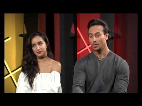 Exclusive Interview | Rapid Fire | Tiger Shroff | Shraddha Kapoor | Baaghi.