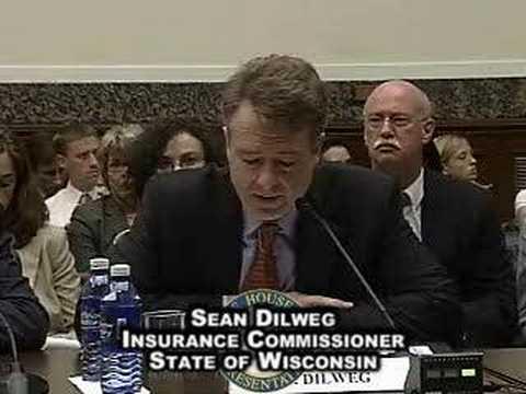 Mental Health Parity Hearing: Sean Dilweg