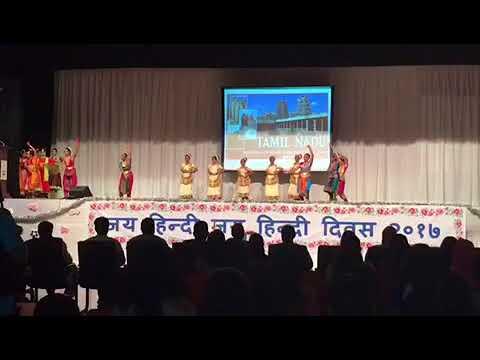 Fusion dance by girls of Abudhabi India School