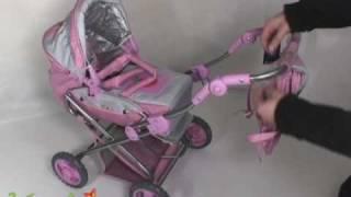 Gulliver Коляска с сумочкой для куклы