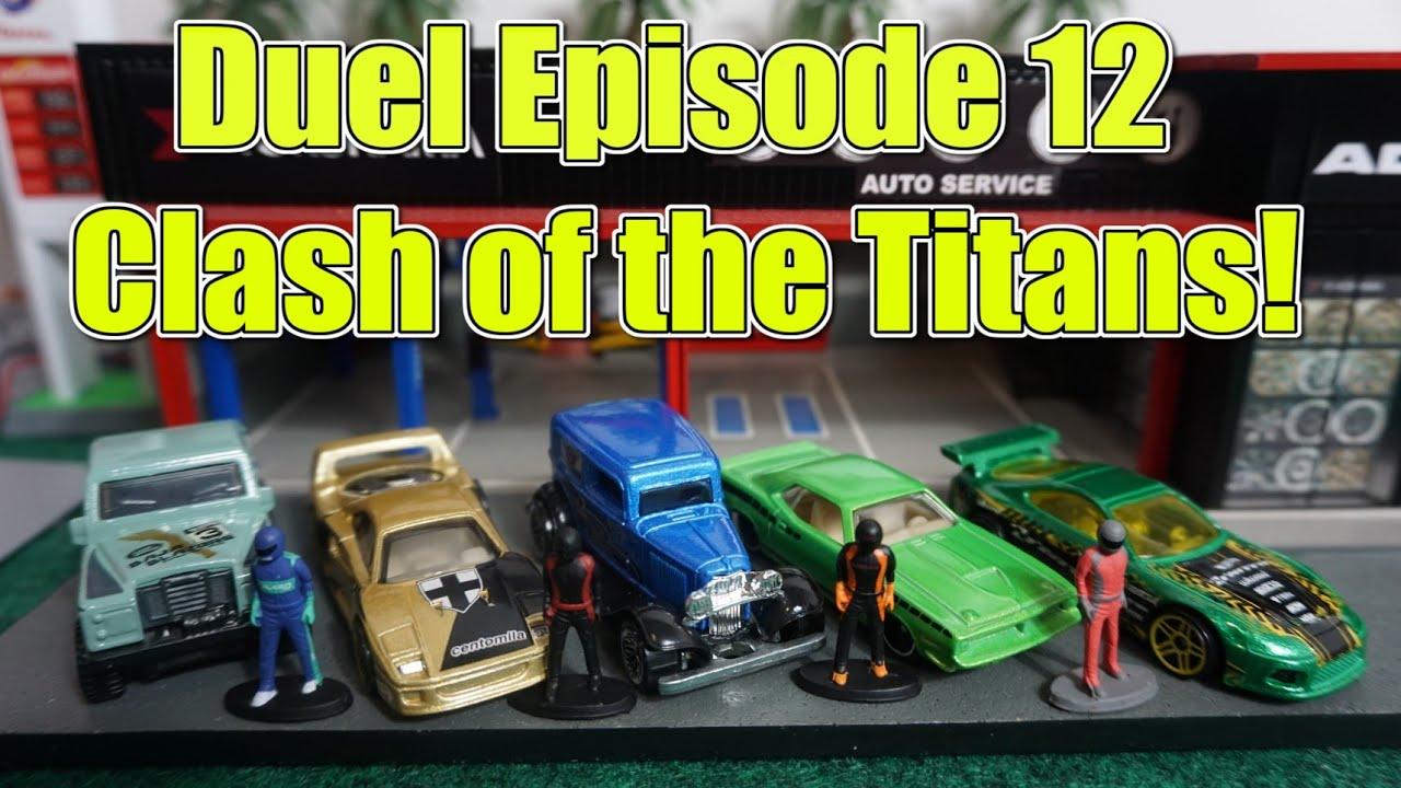 Download Duel Episode 12 - Clash of the Titans!   Diecast Racing Tournament