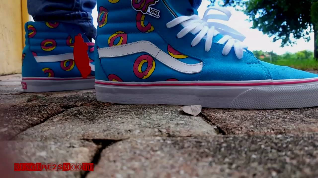 e84bc580d0 VANS X ODD FUTURE 2016 ON FEET REVIEW - YouTube