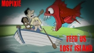 Online Piranha Games Feed Us Lost Island