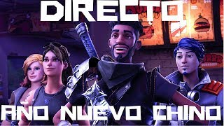 DIRECT//FINISHING THE CHINESE NEW YEAR EVENT IN - FORTNITE /SAVE THE WORLD.