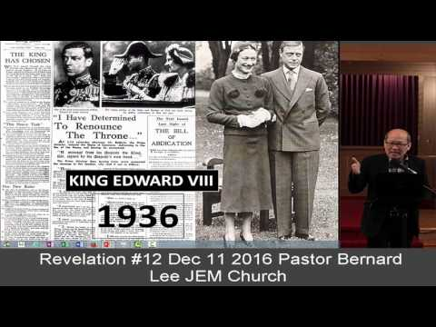 Revelation #12 Dec 11 2016 Pa\stor Bernard Lee JEM Church