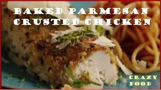 Best Baked Parmesan Crusted Chicken - Chicken Parmigiana