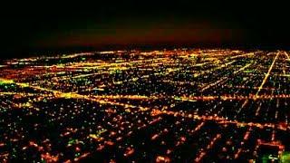 Indigo Airlines Landing In Bhubaneswar, Odisha, India - Night View