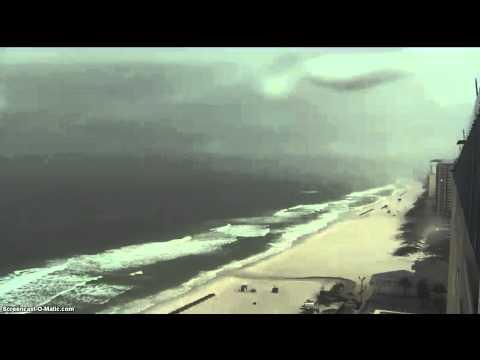 Webcam Panama Beach raining