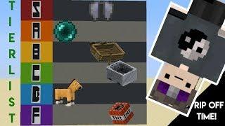 Minecraft Transportation Method Tier List
